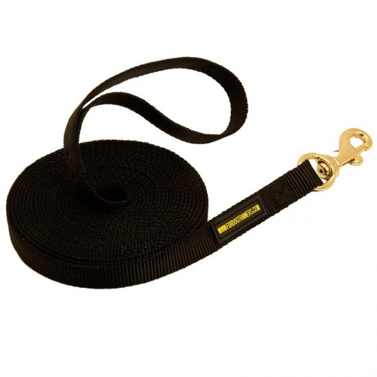 Nylon Doberman Leash for Tracking and Training