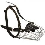 Wire Basket Doberman Muzzle for Comfortable Walking and Training