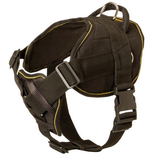 Nylon Doberman Harness for Pulling Tracking Training