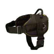All Weather Extra Strong Nylon Doberman Harness for Tracking/Pulling