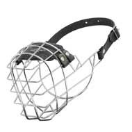 Wire Cage Doberman Muzzle With One Strap