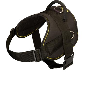 Nylon All Weather Doberman Harness for Service Dogs