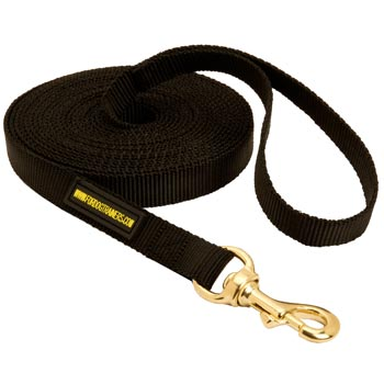 Tracking Extra Long Nylon Doberman Leash